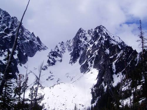 Colchuck Glacier as seen fron...