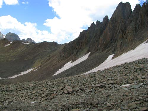 Pinnacles of SW Ridge