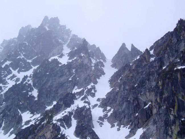 View of the North Buttress...