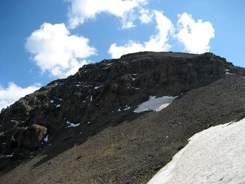 Trout Peak summit block