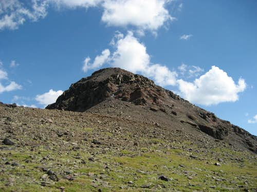 Trout Peak from the north