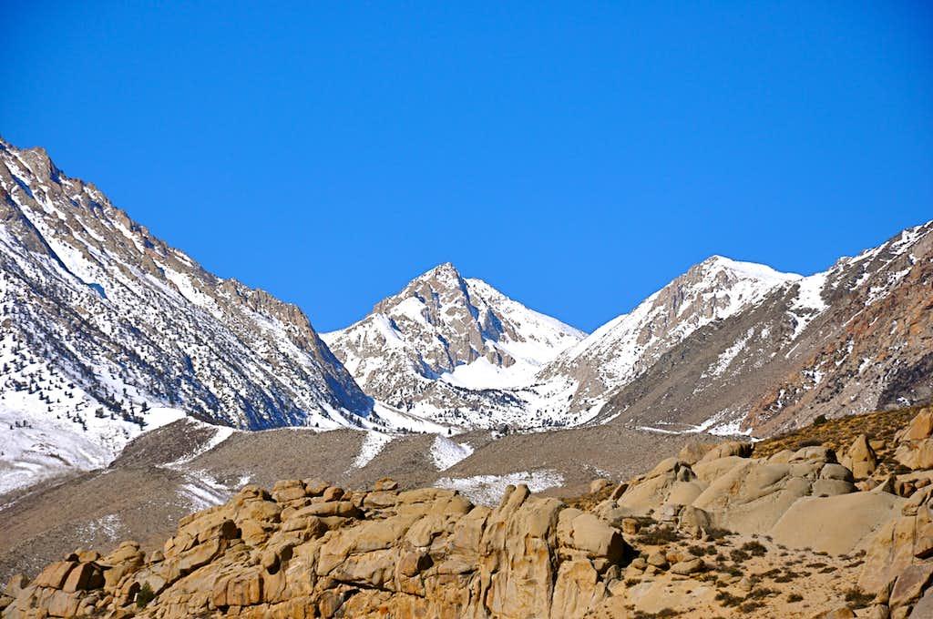 Views of the sierras...