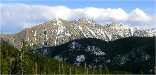 Peak 1 and Tenmile Peak from...