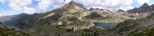 Arriel Peak panoramic. 2007.07.23