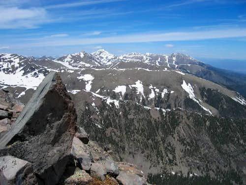 Eureka Mountain, Rito Alto...