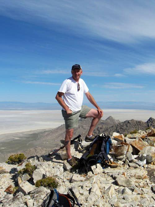 Summit of Desert Peak
