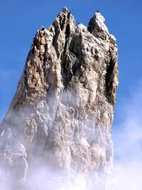 Climbers on Dente del Gigante...