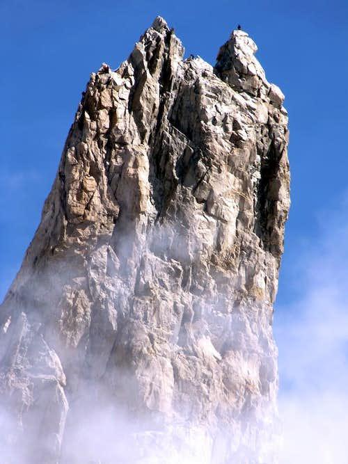 Climbers on Dente del Gigante...