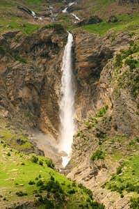 The Cinca waterfall. 2007.06.25
