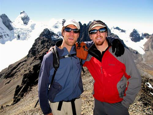 Pico Austria Summit, Bolivia
