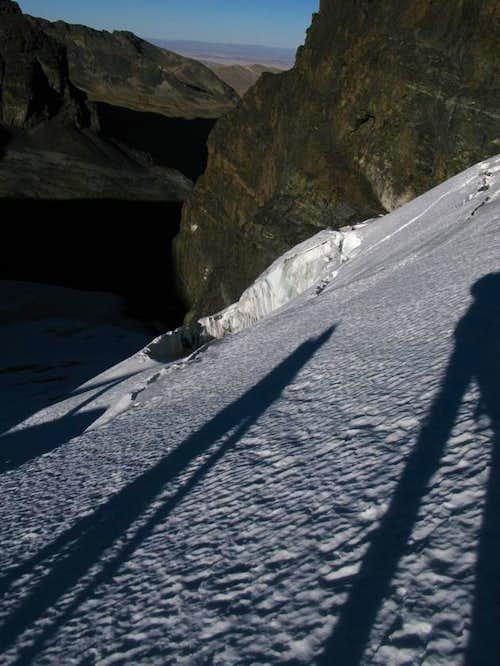 Glacial Shadows, Pequeño Alpamayo, Bolivia
