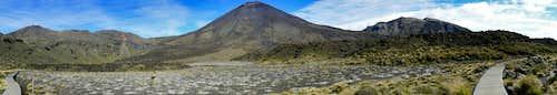 Tongariro Ngauruhoe Panorama