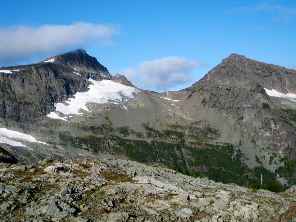 Mts Albert Edward & Regan