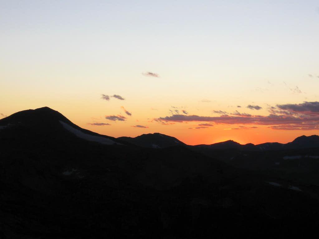 Sunset on Vasquez