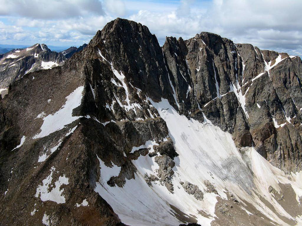 Granite Peak from Tempest Mtn