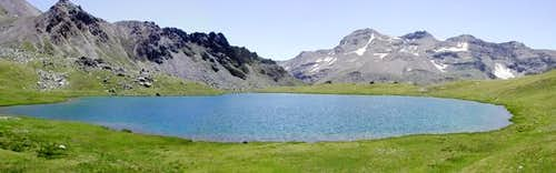 Corona lake(2702 m.)