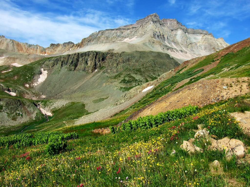 Gilpin Peak And Yankee Boy Basin
