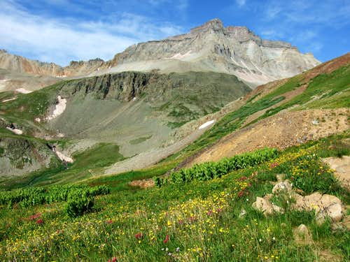 Gilpin Peak And Yankee Boy Basin
