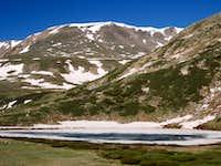 Kite Lake-still frozen on July1