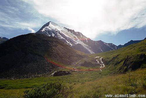 Mount Ak-Oyuk