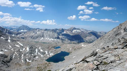 Arrow Peak from Frozen Lake Pass