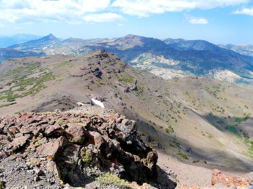"North from ""Pacific Crest Peak"""