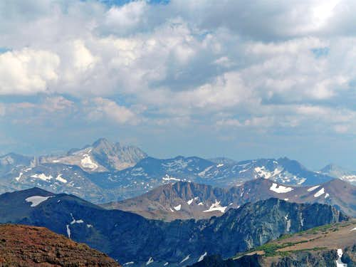 Tower Peak, 11,755' from