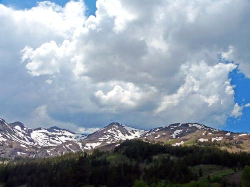 Pacific Crest just south of Sonora Pass