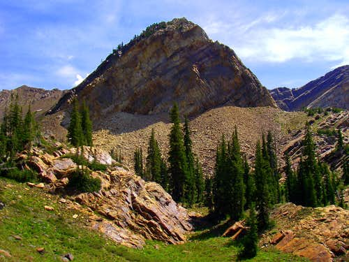 Mount Superior and Monte Cristo....