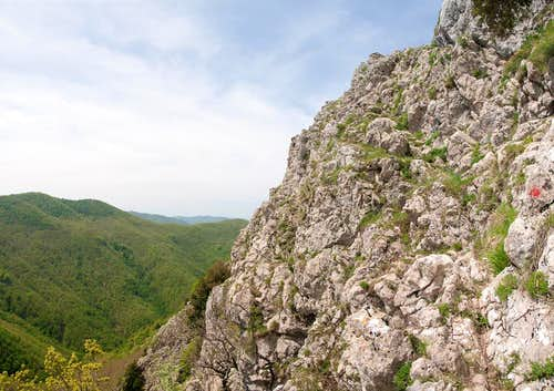 South Face Ledge Route