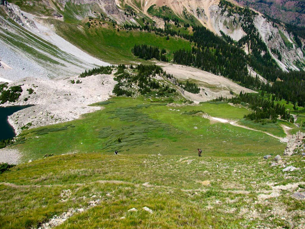 Mount Daly-Capitol Peak Saddle