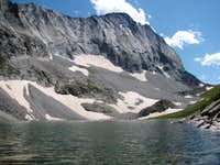 Capitol Peak and Capitol Lake