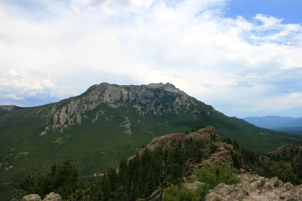 Twin Sisters from Lily Mountain