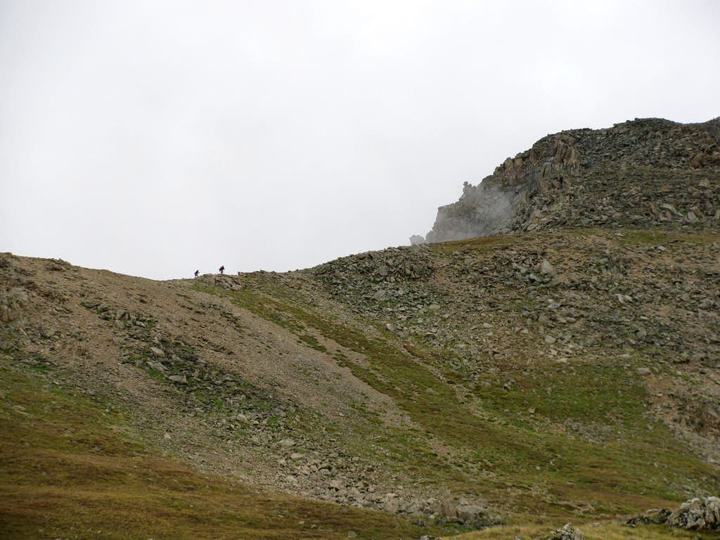 La Plata Peak's Northwest Ridge