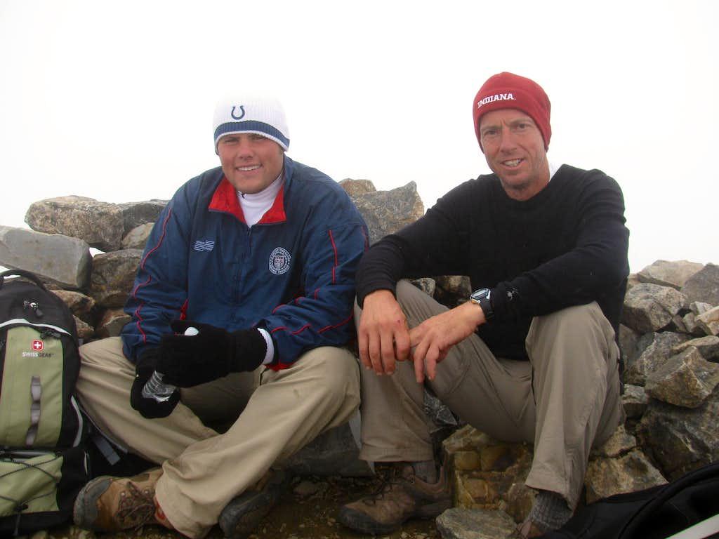 Summit of La Plata Peak