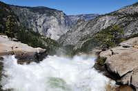 River above Nevada Falls, Yosemite