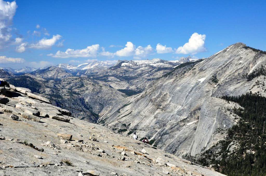 CloudsNest_from Half Dome Yosemite
