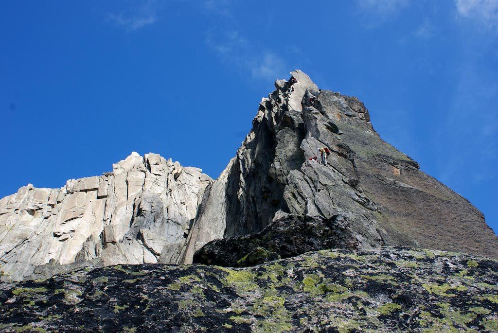 Salbitschijen South-ridge