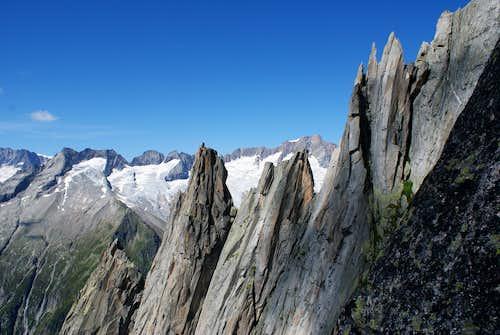 Salbitschijen West-ridge