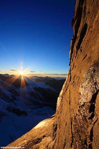 Monte Cervino Sunset