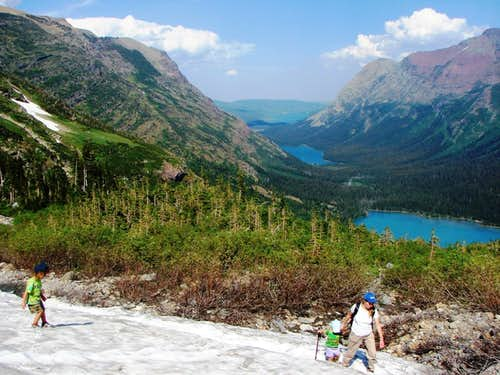 Hiking And Scrambling With Kids Articles Summitpost