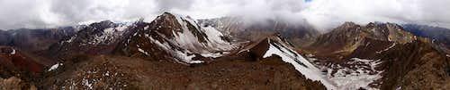 Cerro Bonete - full 360deg panorama