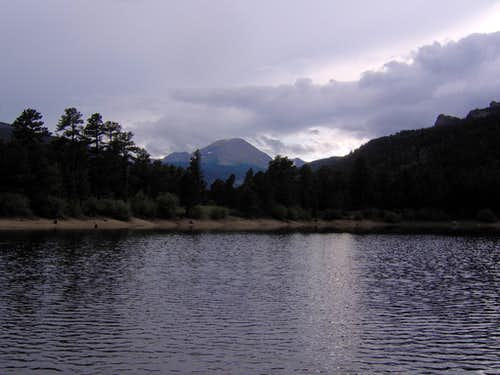Copeland Lake and Mountain Late Afternoon