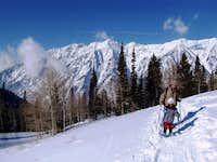 Snowshoeing in Little Cottonwood Canyon_Utah
