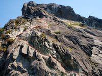 Upper Pugh Scramble Route