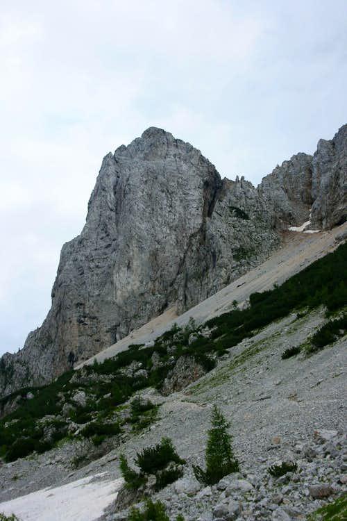 Koschutnikturm, 2.132m