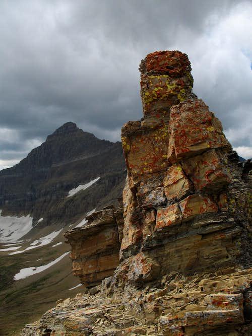 Pinnacle and Matahpi Peak