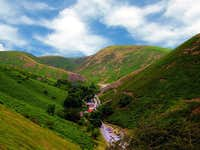 Carding Mill Valley - From Burway Hill