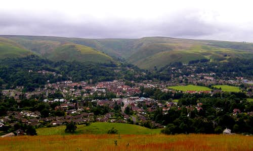 The Long Mynd and Church Stretton
