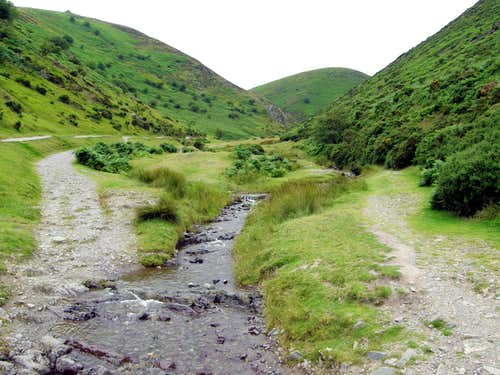 The Long Mynd - Carding Mill Valley